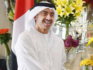 File photo: UAE Foreign Minister Sheikh Abdullah Bin Zayed Al Nahyan today held talks with Defence Minister Manohar Parrikar on strengthening bilateral ties.