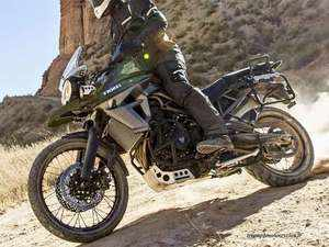 Triumph Motorcycles Unveils Tiger 800 Xca At Rs 1375 Lakh The