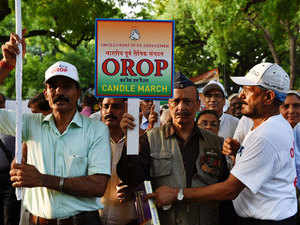The government is likely to go ahead with an announcement of its formula on OROP even as differences remain with ex-servicemen.