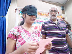 Narendra Nayak, President of Federation of Indian Rationalists Association (FIRA) has openly challenged the organization involved in Mid Brain Activation that he would pay Rs 5 lakh to the organization that demonstrates a child's ability to read after being blindfolded by him.