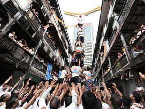 Mumbai saw subdued Dahi-Handi celebrations today, in the backdrop of restrictions on height of pyramids and curbs on decibel levels.