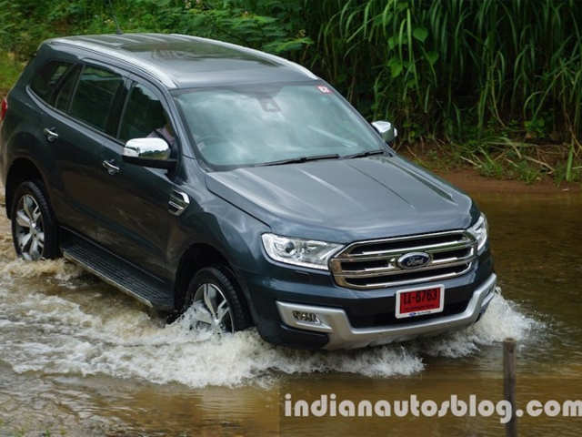 2016 Ford Endeavour First Drive Review
