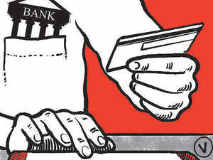 The number of credit cards issued rose 10 per cent in 2014-15 after dipping marginally a year ago as banks weeded out the inactive cards.