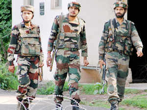 """""""Pakistani troops resorted to unprovoked ceasefire violations in Bhimber Gali sector of Poonch district last evening,"""" Jammu-based defence spokesperson Lt Col Manish Mehta said"""