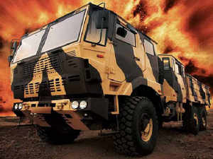 The company has wonRs900croreorder for over 1,200 all terrain '6 by 6' heavy mobility vehicles from theDefenceMinistry to be delivered over next two years
