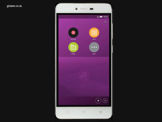 Software - Gionee F103 Review: Another good mid-segment