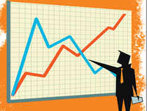The stock ended the day 13.06 per cent higher at Rs 52.80 on the BSE. During the day, it climbed 23.98 per cent to Rs 57.90.