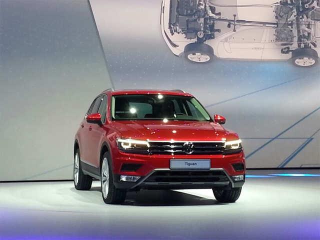 Volkswagen Unveils India Bound Tiguan Compact Suv Vw Unveils