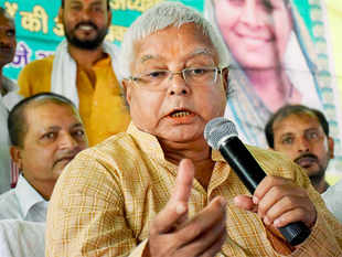 RJD chief Lalu Prasad and its national vice-president Raghuvansh Prasad Singh are at loggerheads on the issue of inviting Asaduddin Owaisi's All India Majlis-e-Ittehadul Muslimeen (AIMIM) to join the grand secular alliance for Bihar assembly polls.
