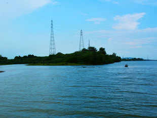 In an historic step in the mission to inter-link rivers, the Godavari was formally connected with the Krishna in Andhra Pradesh today.