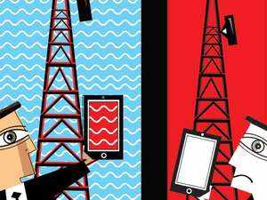 The State government, telecom executives say , is dragging its feet on framing a clear-cut tower policy, which has resulted in poor voice and data services in many parts.
