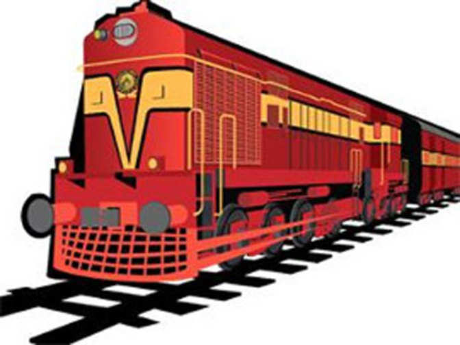 Locomotive Wheel Clip Art : Bhubaneswar new delhi rajdhani engine wheels jump track