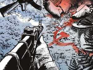 Three Maoists were gunned down in an encounter with security forces in a forest in Malkangiri district today, police said.