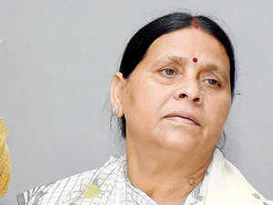 Rabri Devi during party's Central Parliamentary board meeting in Patna.