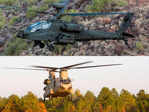 "Deal for Apache is ""a hybrid one"", with one contract to be signed with Boeing for the helicopter and the other with the US government for its weapons."