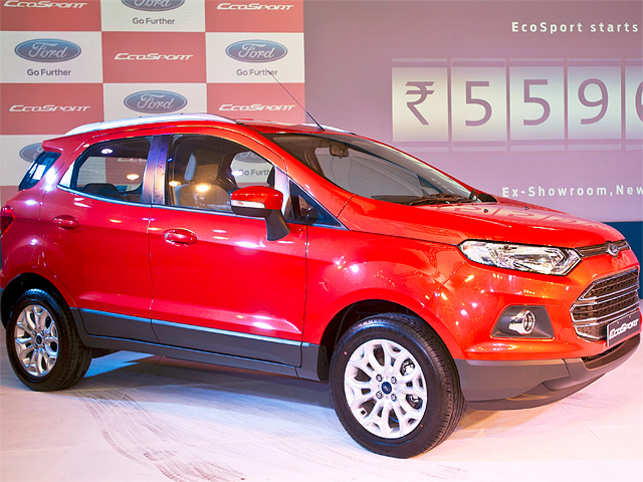 The Mini SUVs are getting on to the want list of an increasing number of Indian auto consumers and enthusiasts. (Image: Ford EcoSport/BCCL)