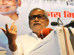 """Bihar CM Nitish Kumar reacted sharply to Mulayam questioning his secular credentials over being with BJP for 12 years, asking whether the latter was """"the Vice Chancellor of University of Secularism""""."""