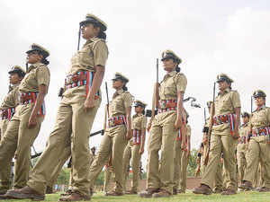 A large contingent of over 1,000 women recruits are set to swell the ranks of women personnel of Delhi Police as they took oath today after completing basic training at a colorful passing out parade here.
