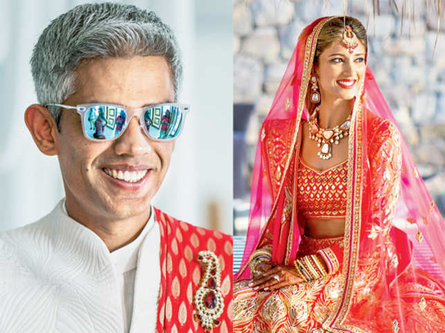 Surrounded by friends, food, music and the Aegean Sea, an exclusive look at how Aditya Parekh and Mallika Tarkas got hitched earlier this month. (Pics: Joseph Radhik)