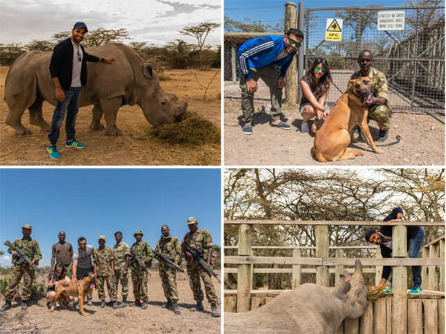 """I have been a member of PETA and when I was informed about the cause, I thought it is my duty to join the anti-poaching drive."""
