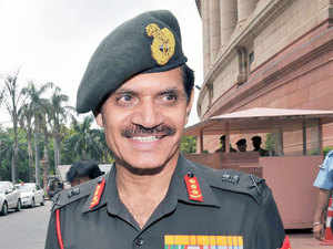 Army chief Gen Dalbir Singh Suhag today left on a four-day visit to Russia during which enhancement of bilateral military cooperation.