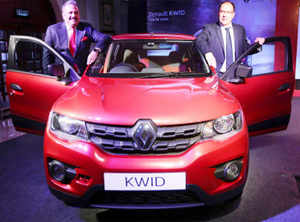 Renault Kwid hatchback launched at a starting price of Rs 2 56 lakh