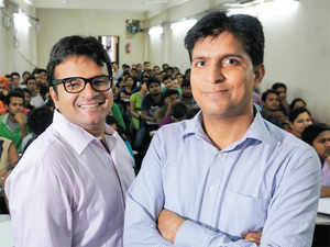 Saurabh Bansal (left) and Anil Nagar, Co-founders, Career Power