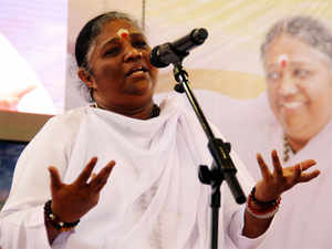 Mata Amritanandamayi pledged Rs 100 crore for the works in Kerala while participating in her 62nd birth day celebration.