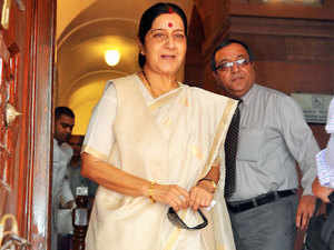 External Affairs Minister Sushma Swaraj today put the death toll in the Haj stampede in Mina at 1090, including 35 Indians, much higher than the figure of 769 given by Saudi authorities.