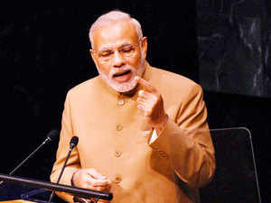 """""""We cannot let 21st century to be stained with terrorism,"""" Modi said, adding that he would be raising the issue again before the United Nations."""
