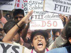 FTII students on Monday presented a list of signatories of national and international repute who have expressed support for their cause.