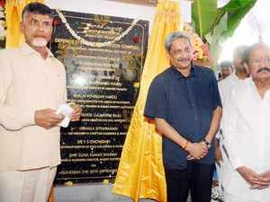 Defence Minister Manohar Parikkar today laid the foundation for Bharat Electronics Limited's (BEL) Defence Systems Integration Complex at Palasamudram.