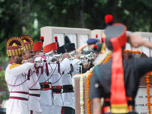 In pic: 1965 Indo-Pak war Golden Jubilee was celebrated on 22 Sep 2015 in an impressive ceremony held at the National War Memorial, Pune.