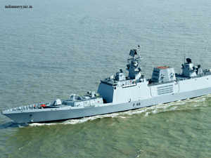 The visit of INS Sahyadri is aimed at strengthening bilateral ties and enhancing inter-operational abilities between navies of India and Vietnam. (File photo of INS Sahyadri)
