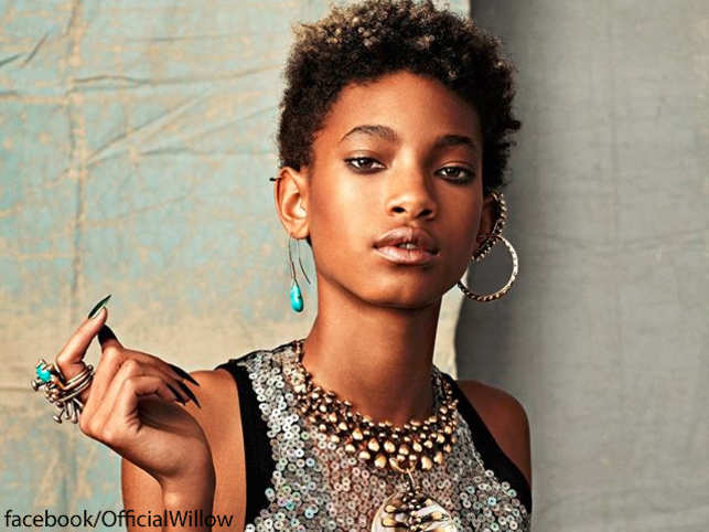 will smith s daughter willow lands modelling contract the economic