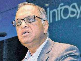 I don't believe in companies having equal shareholding by two people, three people — such companies will never succeed, says Narayana Murthy.
