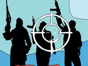 Two militants of Jaish-e-Mohammad (JeM) outfit were today killed in an encounter with security forces in Pulwama district of Kashmir, police said.