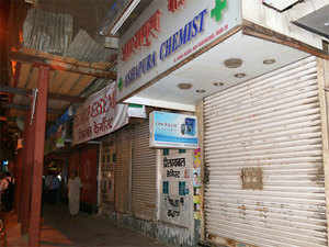 Nearly 8 lakh chemists across the country have decided to down their shutters on October 14 to oppose sale of medicines via internet-based pharmacies.