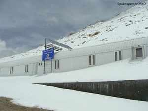 The centre, 75 km off Leh town towards Pangong lake, is poised to be the world's highest terrestrial R&D centre in the cold desert of Ladakh.
