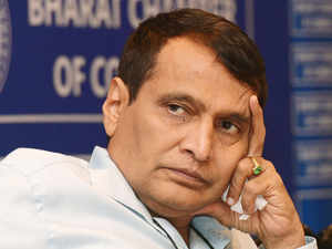 The savings generated by using renewable energy sources can be used to create a fund to deal with the problem of climate change, Railway Minister Suresh Prabhu has said.