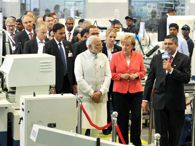 Indo-German Summit 2015 - German Chancellor Angela Merkel on three ...
