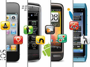 Android and iOS dominate the smartphone platform market, controlling a combined 95.7% of the installed base in the US.