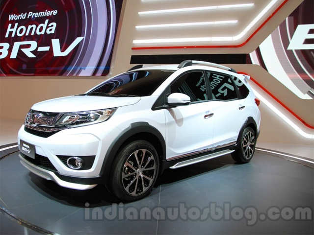 India Bound Honda BR V Showcased At Makassar Automotive Exhibition