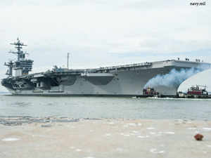 The exercise, to be held from October 12 to October 19, will see US' Nimitz-class 100,000-tonne carrier, the USS Theodore Roosevelt.