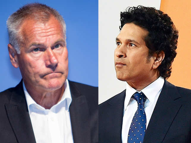 The Kerala Blasters coach Peter Taylor went beyond the banal when speaking about Sachin Tendulkar, the team's co-owner.