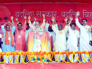 Narendra Modi, meanwhile, has been called `brahmapishach' after earlier being labelled `Kaliyanag' by Lalu Prasad.