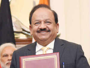 Science and Technology Minister Harsh Vardhan.