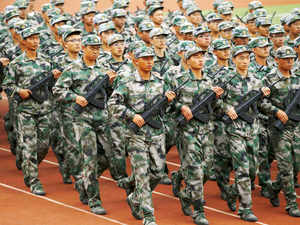 Troops from 14 Corps of China's Chengdu Military Region, which focuses on borders with India are taking in the exercise. (Representative image)