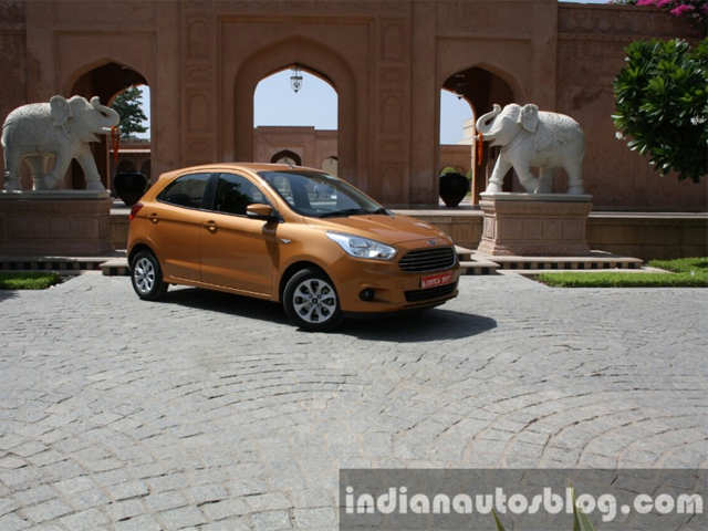 Seats - 2015 Ford Figo Diesel and Petrol-Automatic Review