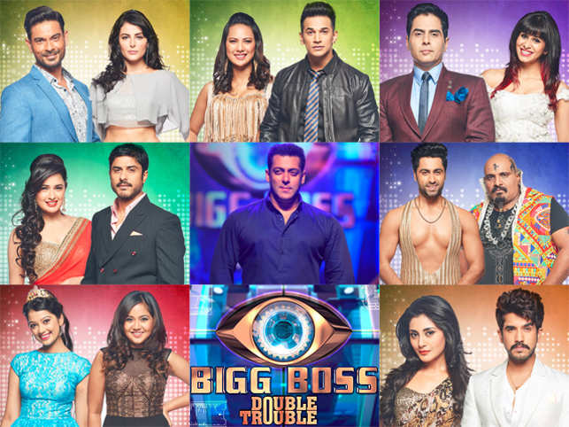 """Salman Khan is back with """"Bigg Boss 9"""" which promises to be a double dose of trouble, fun, entertainment, couples and insane fights. (Image: BiggBoss/facebook)"""
